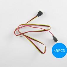 Skylark 4Pin cable 50cm * 5PCS